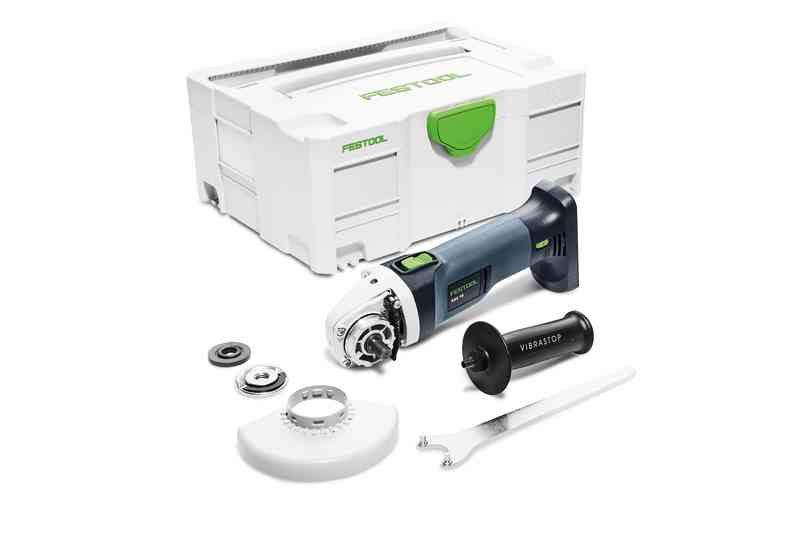 REBARBADORA ANGULAR BAT  AGC 18-125 Li EB BASIC FESTOOL